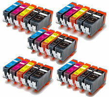 25P Quality Ink Cartridges w/ chip for Canon 220 221 MP620 MP640 MX860 MX870
