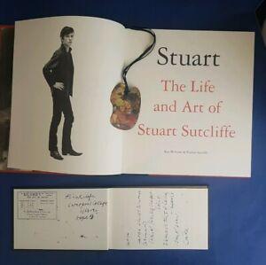 SIGNED Stuart Sutcliffe Astrid Kirchherr Genesis Painting Book Beatles Pauline