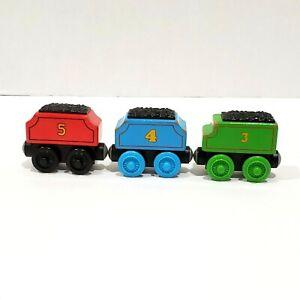 Thomas & Friends Wooden Railway Train Tank Engine Henry Gordon James Tender 2012
