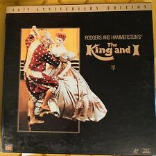 """The King And I : 40th anniversary Boxset -12"""" LASERDISC  Buy 6 for free shipping"""