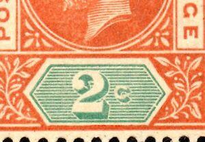 1912 Seychelles Sg 71 2c chestnut and green 'Break in Value Tablet' UMM