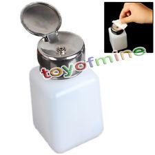 New Empty Pump Dispenser For Nail Art Polish Remover 200ML Bottle #436