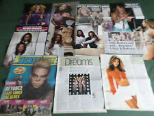 BEYONCE  - POP MUSIC- CLIPPINGS /CUTTINGS PACK