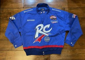 Stacy Compton #86 RC Cola Racing Race Jacket Mens Size X Large NASCAR Trucks