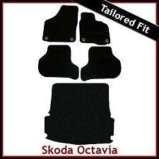 Skoda Octavia Mk2 Tailored Fitted Carpet Car+ Boot Mats (2004 2005...2013) Oval