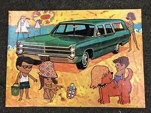 TRUE VINTAG1967 RARE FURY STATION WAGON III 3 MOPAR PLYMOUTH DEALER PROMO PUZZLE