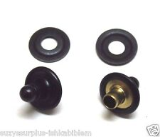 Lift A Dot Lift the dot Black Brass Steel 2 Stud 2 Washer Lot of 4 pieces E7646