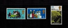 ERROR EMBOSSED MISSING OMITTED 3 STAMPS ANNIVERSARIES SG820 SG821  SG828 CAT £33