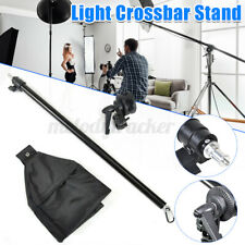 UK Phototography Studio Light Stand Collapsible Telescopic Boom Arm With Sandbag