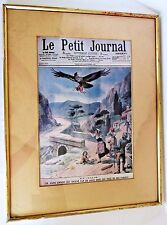 Framed Antique Newspaper - Le Petit Journal - 23 September 1906