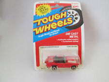 1981 Kidco Tough Wheels 1/60 Famous Convertibles '56 Ford T-Bird Car #15100-3