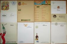 Menus: Set of 41 French 1940s Advertising Cognac/Champagne/Wine/Liqueur/Calvados