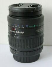 SMC Pentax FA K/AF 28-80mm f3.5-5.6 Auto Focus Wide Angle Zoom Lens & Macro