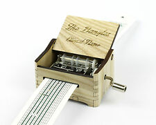 The Bangles - Eternal Flame / Hand Crank Paper Strip Wooden Music Box