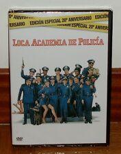 LOCA ACADEMIA DE POLICIA-20º ANIVERSARIO-DVD-NUEVO-PRECINTADO-NEW-SEALED-COMEDIA