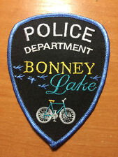 PATCH POLICE BONNEY LAKE - BIKE - WASHINGTON WA state