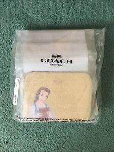 Disney X Coach Mini Camera Bag With Belle shoulder/crossbody wear NWT Mom Gift