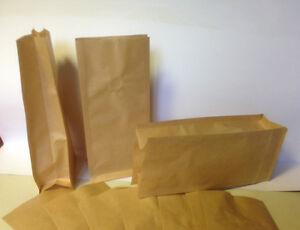 50 Stück Kraftpapier-Kaffee-tüten ÖKO  Verpacken 250g mit Ventil-OHNE ALU
