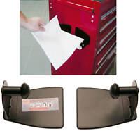 Papierrollen Halter magnetisch Werkstatt Wagen Werkzeugwagen Magnethalter Kfz