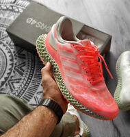 Adidas 4D Run 1.0 Mens Alphaedge Coral Running Uk 8.5 Us 9 GYM ZX RF Parley💯🔥
