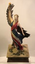 "Rare Duncan Royale Calendar Secrets -July-Statute 16"" Winged Liberty Patriotic"