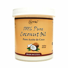 bmb 100% Pure Coconut Oil for Hair and Skin 16oz