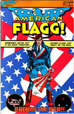 American Flagg #1-27 Howard Chaykin's Magnum Opus 1983-85 Plus Alan Moore! First