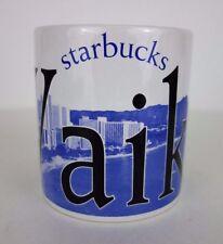 Starbucks Waikiki Hawaii Coffee Mug 2007 18 Ounces