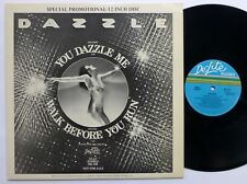 "DAZZLE You Dazzle Me 12"" De-Lite 1979 modern Soul promo VG++  #1119"