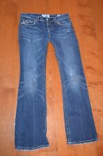 MEK DENIM COTTON/SPANDEX BLEND DURHAM BOOTCUT JEANS, sz 28/32