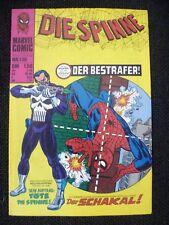BRONZE AGE + MARVEL + GERMAN + 130 + DIE SPINNE + SPIDER-MAN + PUNISHER + 129 +