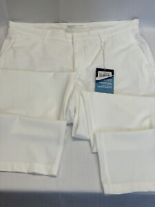 NEW Men's Nike Standard Fit Dri-Fit Stay Cool Golf Pants Color100 White 32X32