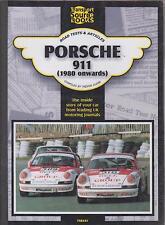 PORSCHE 911 911SC Carrera Turbo Cabriolet & CS (1980-92) periodo di prove su strada LIBRO