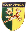 South Africa Springboks Rugby Union Pin Badge