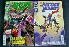 DC UNIVERSE JUSTICE LEAGUE # 48 AND DC UNIVERSE JUSTICE LEAGUE # 49 TWO BOOK LOT