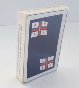 RNLI Lifeboat Playing Cards - Deck is Brand New & Sealed - FREE UK Postage