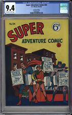 SUPER ADVENTURE COMIC #54 CGC NM 9.4   HIGHEST CGC GRADE - WORLD'S FINEST #63