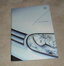 VOLKSWAGEN VW GOLF MK4 Brochure 1998-e S SE GTI 1.8 T GT TDI 1.9 2.3 V5 1.6 1.4