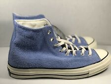 Converse Chuck Taylor All Star 70 High Suede Pioneer Blue Men's Size 10 157454c