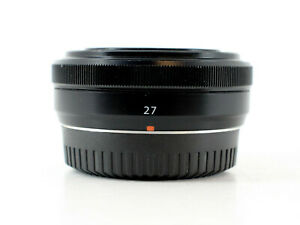 Fujifilm XF 27mm f2.8 Lens (Black)