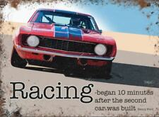 Ford Racing car metal advertising sign 30x40cm wall plaque