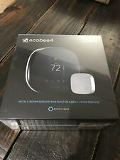 Ecobee 4 Alexa Enabled Smart Thermostat with Sensor - Free Shipping