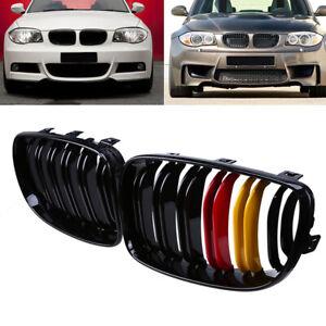 Fits BMW 1-Series E87 E81 E82 E88 125i 128i 135i 2008-13 2x Front Kidney Grilles