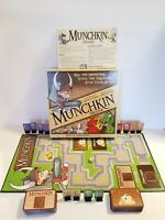 Munchkin Deluxe Board Card Game Steve Jackson Games COMPLETE Monsters