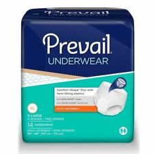 Prevail Underwear, Extra Absorbency, X-Large, Case/28