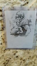 ARIAN FOSTER 2013 NATIONAL TREASURES PRINTING PLATE  !! 1/1 !!!