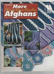 More Mile-a-Minute Marathon Afghans - Annie's Attic #879401 - Crochet - SC  1996