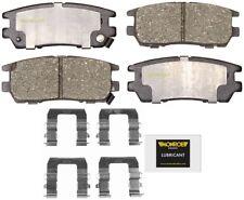 Disc Brake Pad Set-Total Solution Ceramic Brake Pads Rear fits 1992 Montero