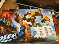 Transformers War for Cybertron Kingdom Titan Autobot Ark New In Stock!!