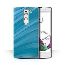 Stuff4 Funda de móvil/CARCASA TRASERA PARA LG G4C / H525N / Verde Azulado Moda